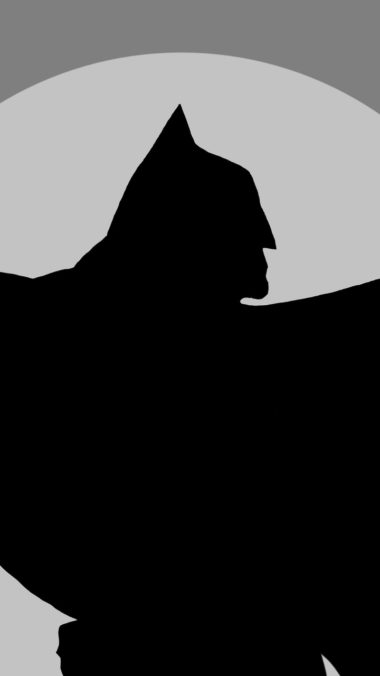 Batman Minimalism Rw Wallpaper 720x1280 380x676