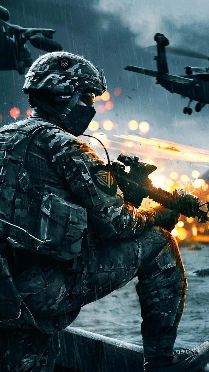 Battlefield 4 Wallpaper 720x1280