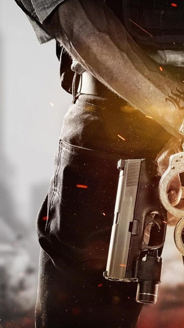 Battlefield Hardline Criminal Game Wallpaper 720x1280