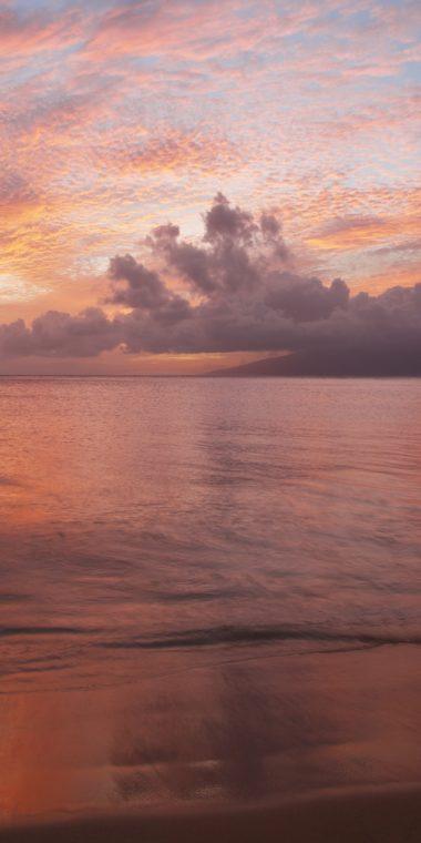Beach Sunset Wallpaper 1080x2160 380x760