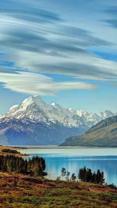 Beautiful Lake New Zealand Of Wallpaper 1080x1920 380x676