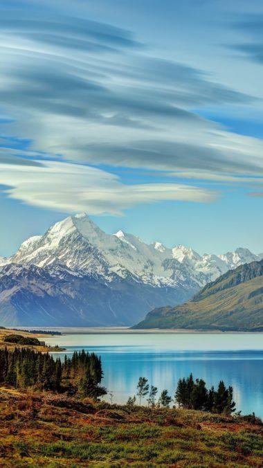 Beautiful Lake New Zealand Of Wallpaper 1080x1920 380x676