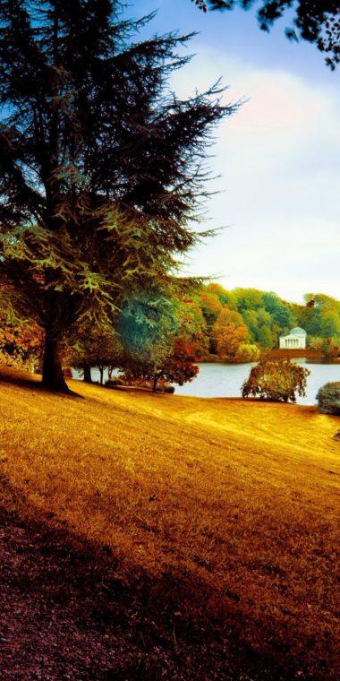 Beautiful Park Wallpaper 1080x2160 380x760