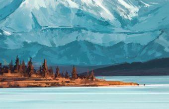Bejamin Mountains A Quiet Mind Yi Wallpaper 1080x1920 340x220