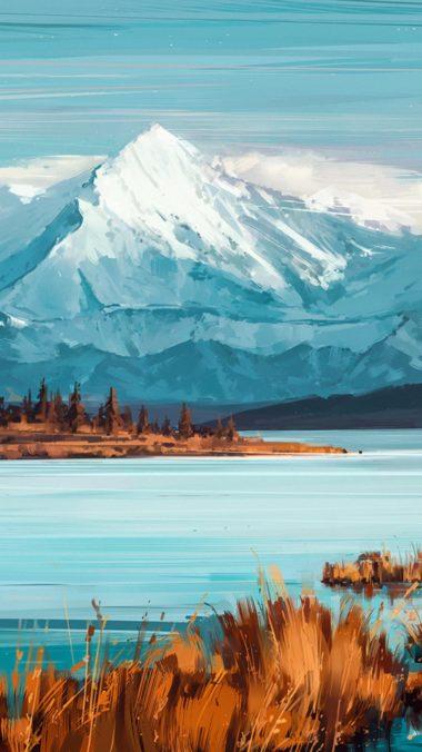 Bejamin Mountains A Quiet Mind Yi Wallpaper 1080x1920 380x676