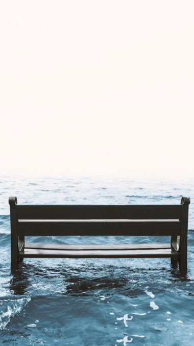 Bench Sea Surf Wallpaper 720x1280 380x676