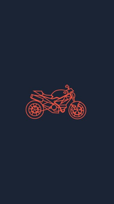 Bike Art Symbol Wallpaper 720x1280 380x676