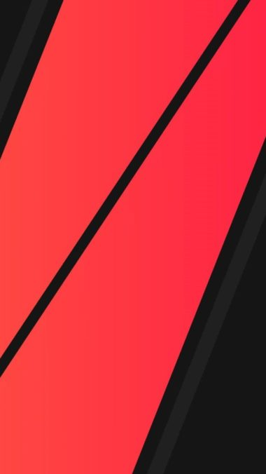 Black Red Minimalism Wallpaper 720x1280 380x676