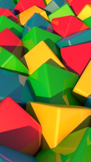Blocks Bright Multi Colored 380x676