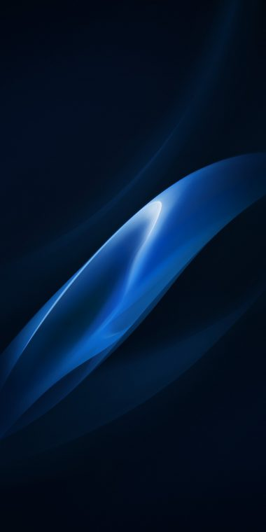 Blue Black Wallpaper 1080x2160 380x760