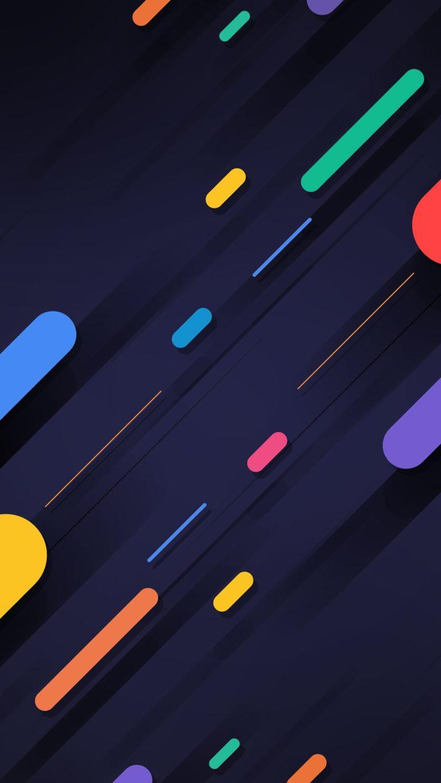 Blue Squares Wallpaper 1080x1920 768x1365