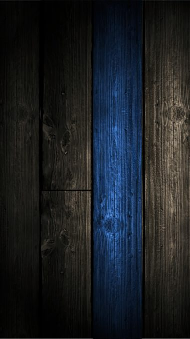 Blue Wood Wallpaper 1080x1920 380x676