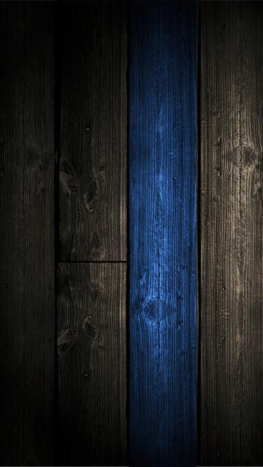 Blue Wood Wallpaper 1080x1920 380x676