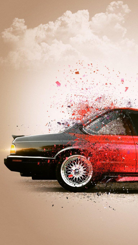 Bmw Cgi Car 3d Wallpaper 2160x3840 768x1365