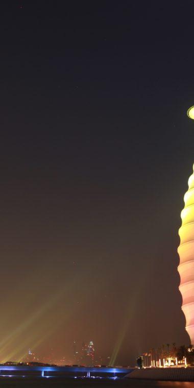 Burj Al Arab Wallpaper 1080x2160 380x760