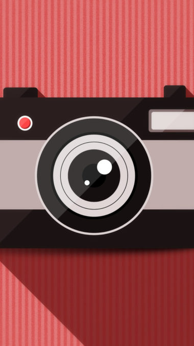 Camera Vector Minimalism Iw Wallpaper 720x1280 380x676