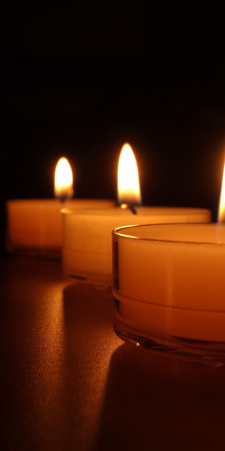 Candle Wallpaper 1080x2160 768x1536