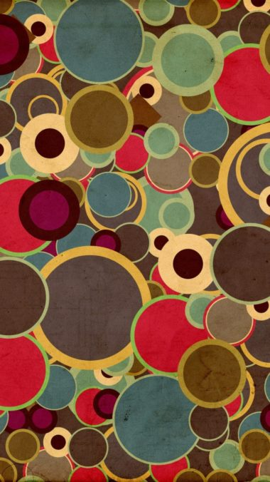 Circles Background Surface 380x676