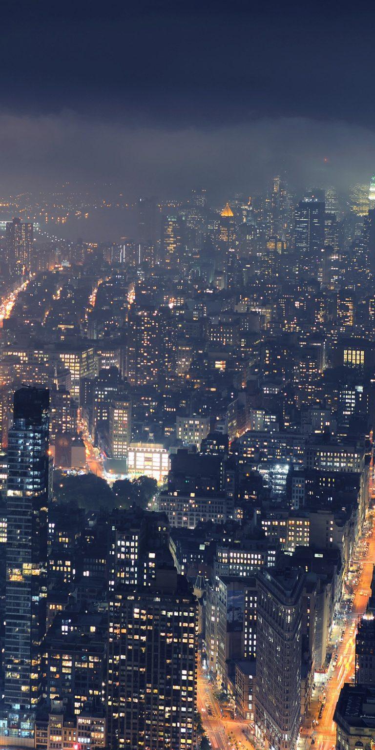 City Night Wallpaper 1080x2160 768x1536