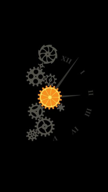 Clock Minimalism Image Wallpaper 1080x1920 380x676