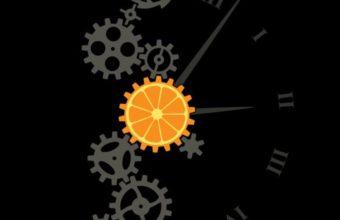 Clock Minimalism Image Wallpaper 2160x3840 340x220