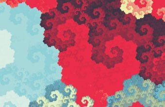 Clouds Digital Fractal Art Ua Wallpaper 2160x3840 340x220