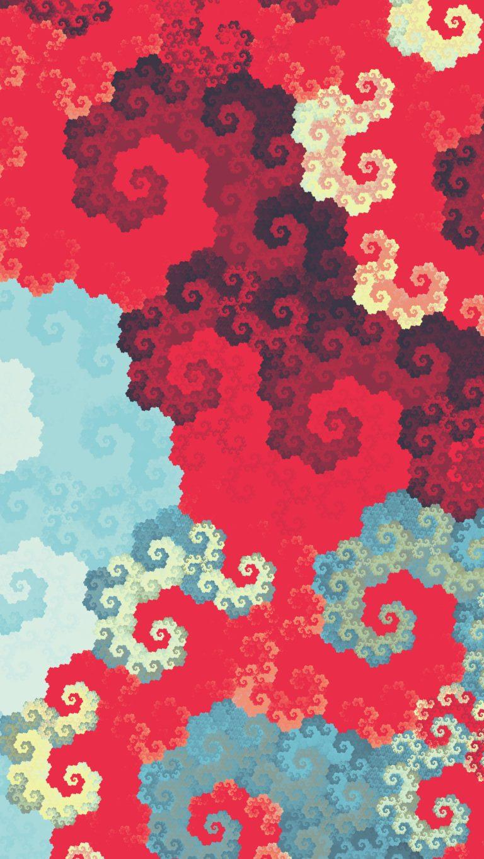 Clouds Digital Fractal Art Ua Wallpaper 2160x3840 768x1365