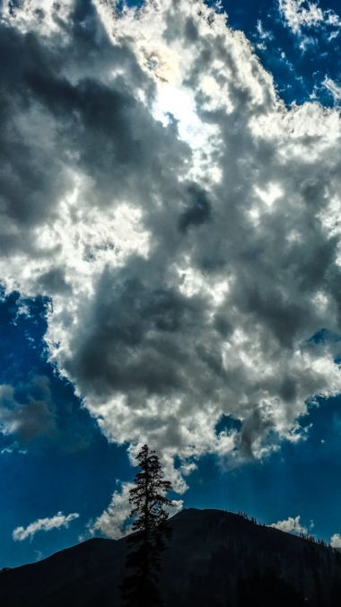 Clouds Overcast Sky Wallpaper 720x1280 380x676