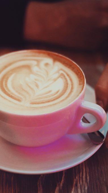 Coffee Cappuccino Cinnamon Wallpaper 2160x3840 380x676