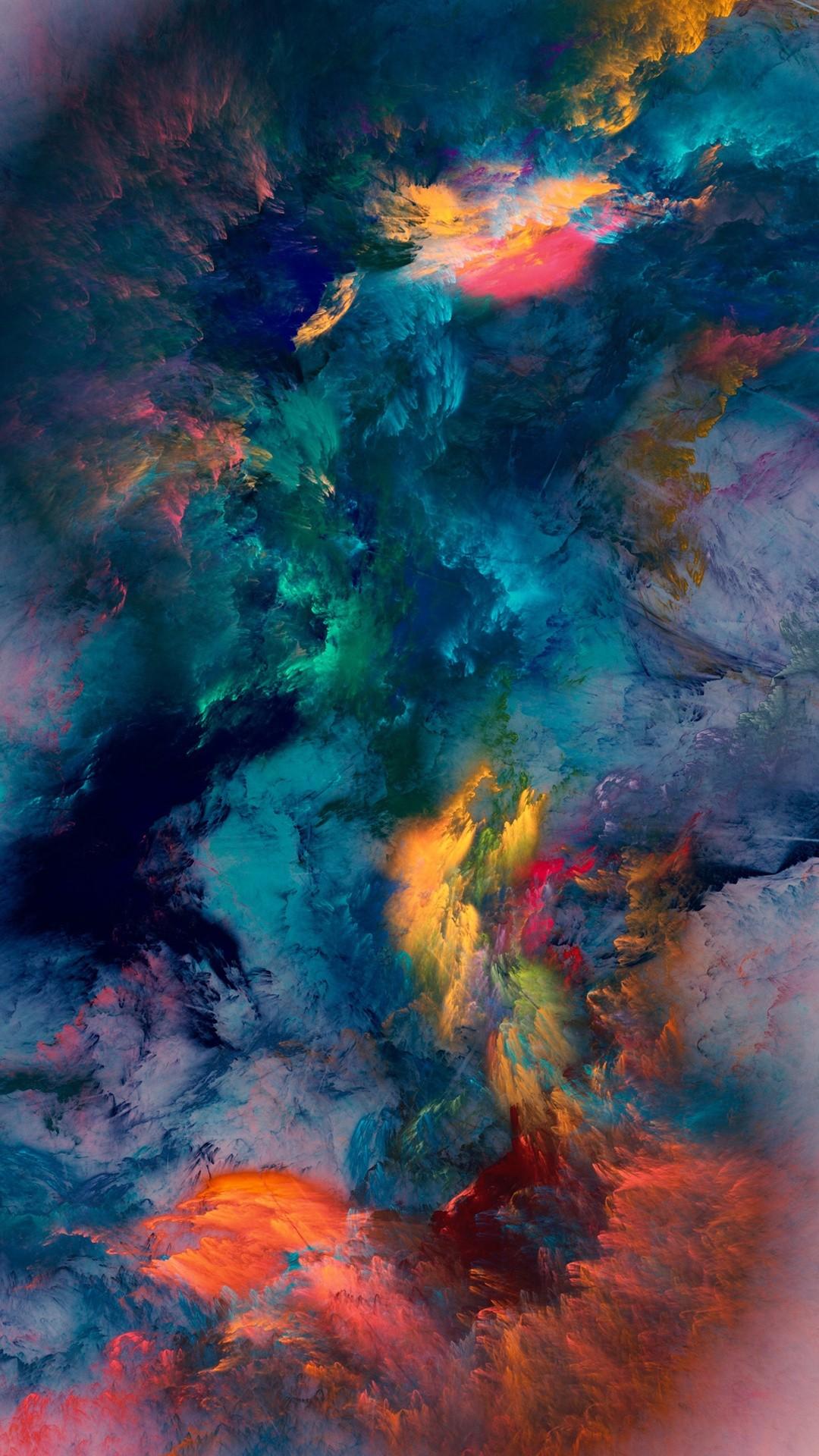 Color Storm Wallpaper