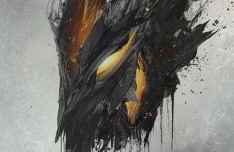 Demon Mask Artwork Ap Wallpaper 1080x1920 340x220
