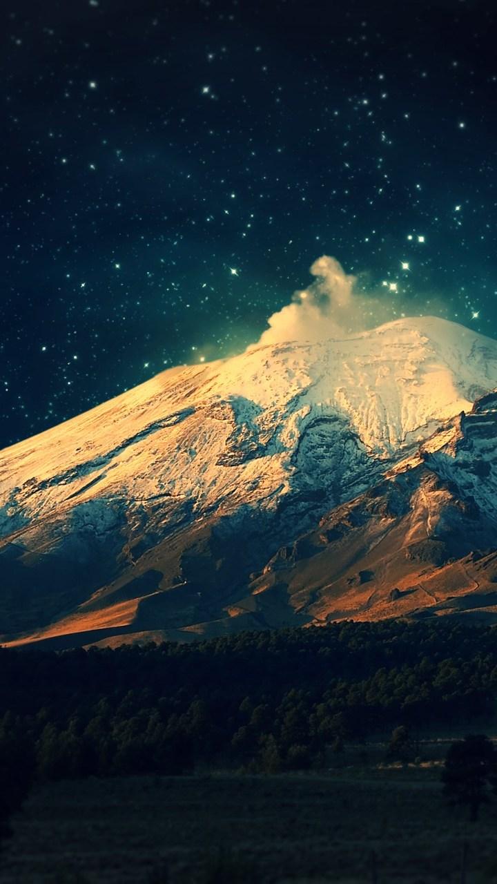 Digital Universe Mountains Wallpaper 720x1280