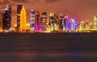 Doha City Wallpaper 1080x2160 340x220