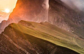Dolomites Mountain Range Sony Bravia Tv Original Oled Xb Wallpaper 1080x1920 340x220