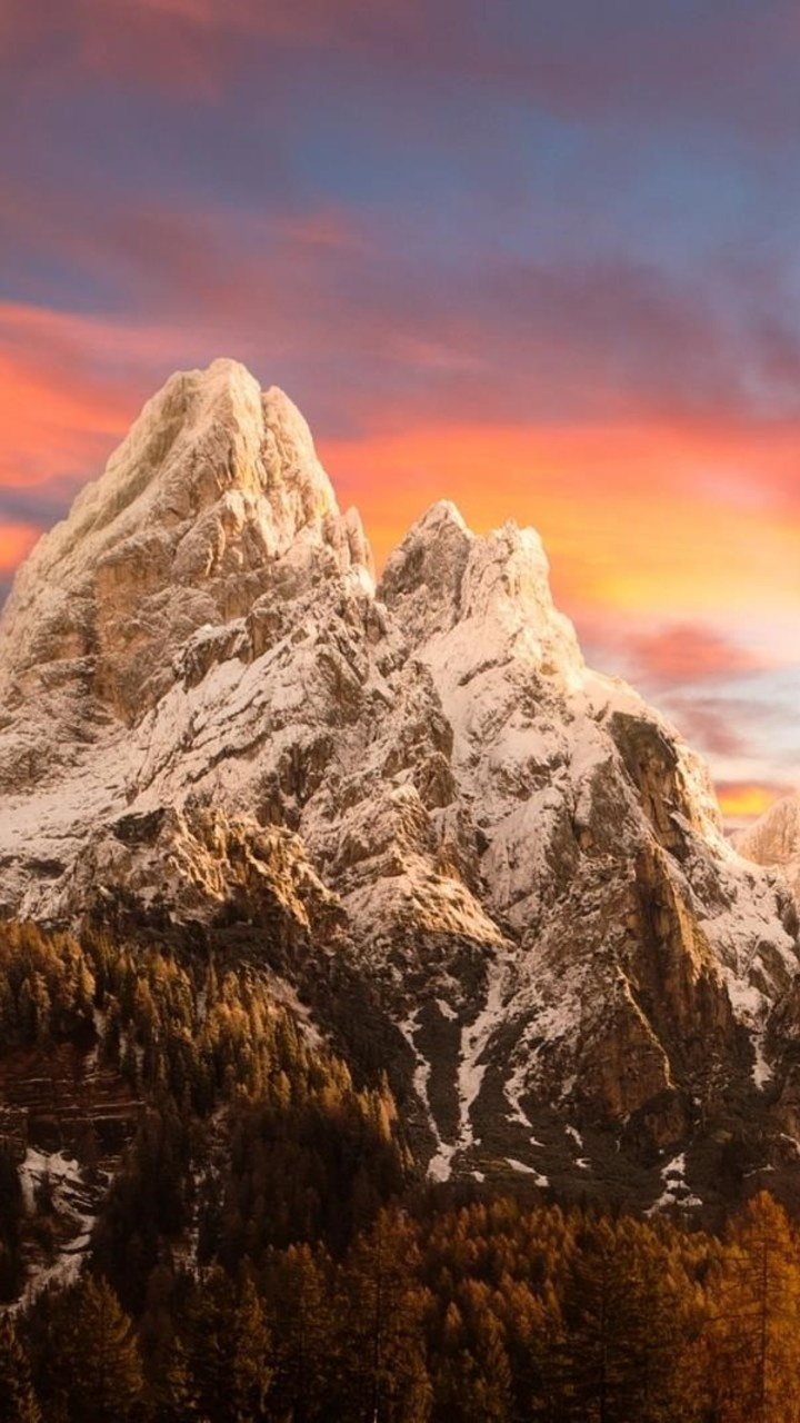Dolomites Mountains Wallpaper 720x1280