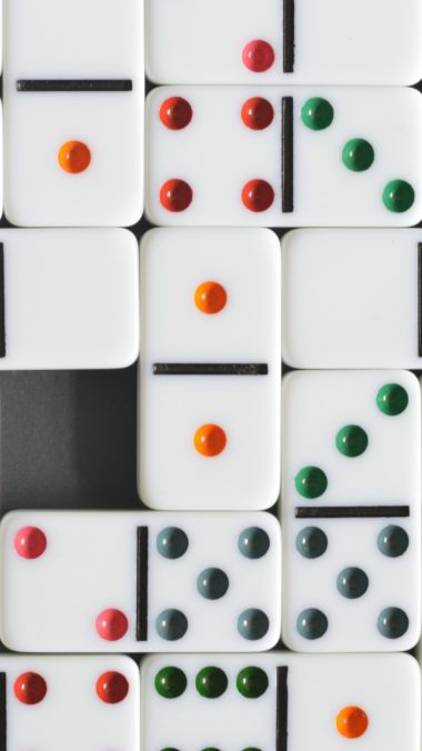 Dominoes Dice Board Games Wallpaper 2160x3840 380x676
