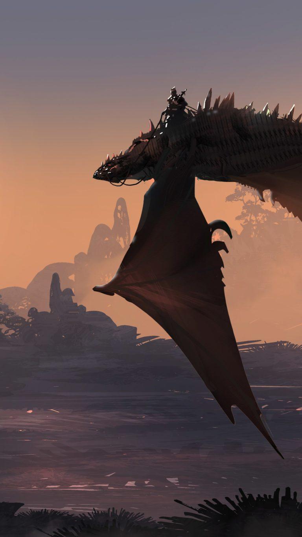 Dragon Fantasy Art 5y Wallpaper 1080x1920 768x1365