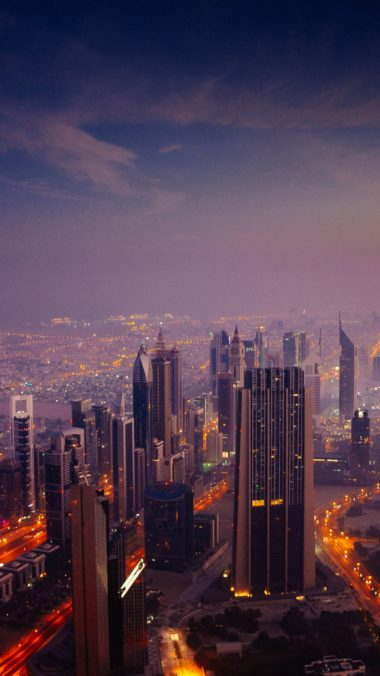 Dubai Sunrise City Pg Wallpaper 2160x3840 380x676