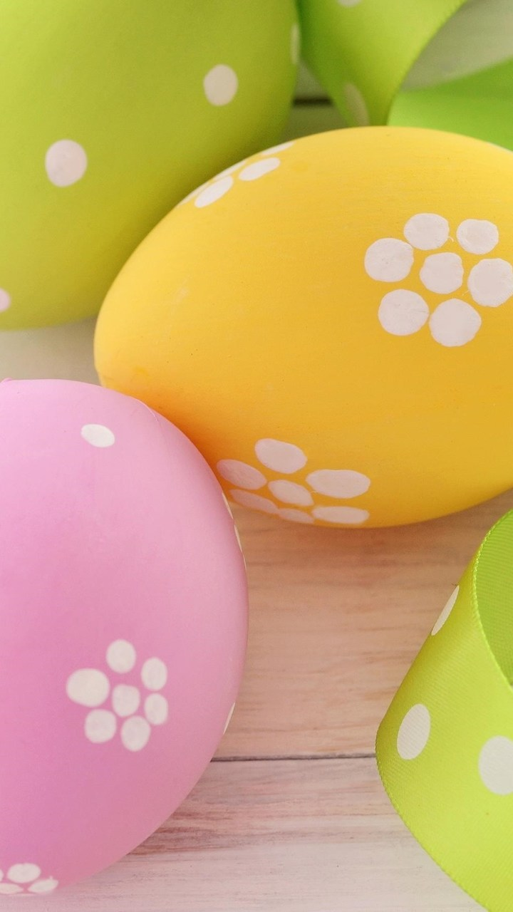 Easter Eggs Wallpaper 720x1280