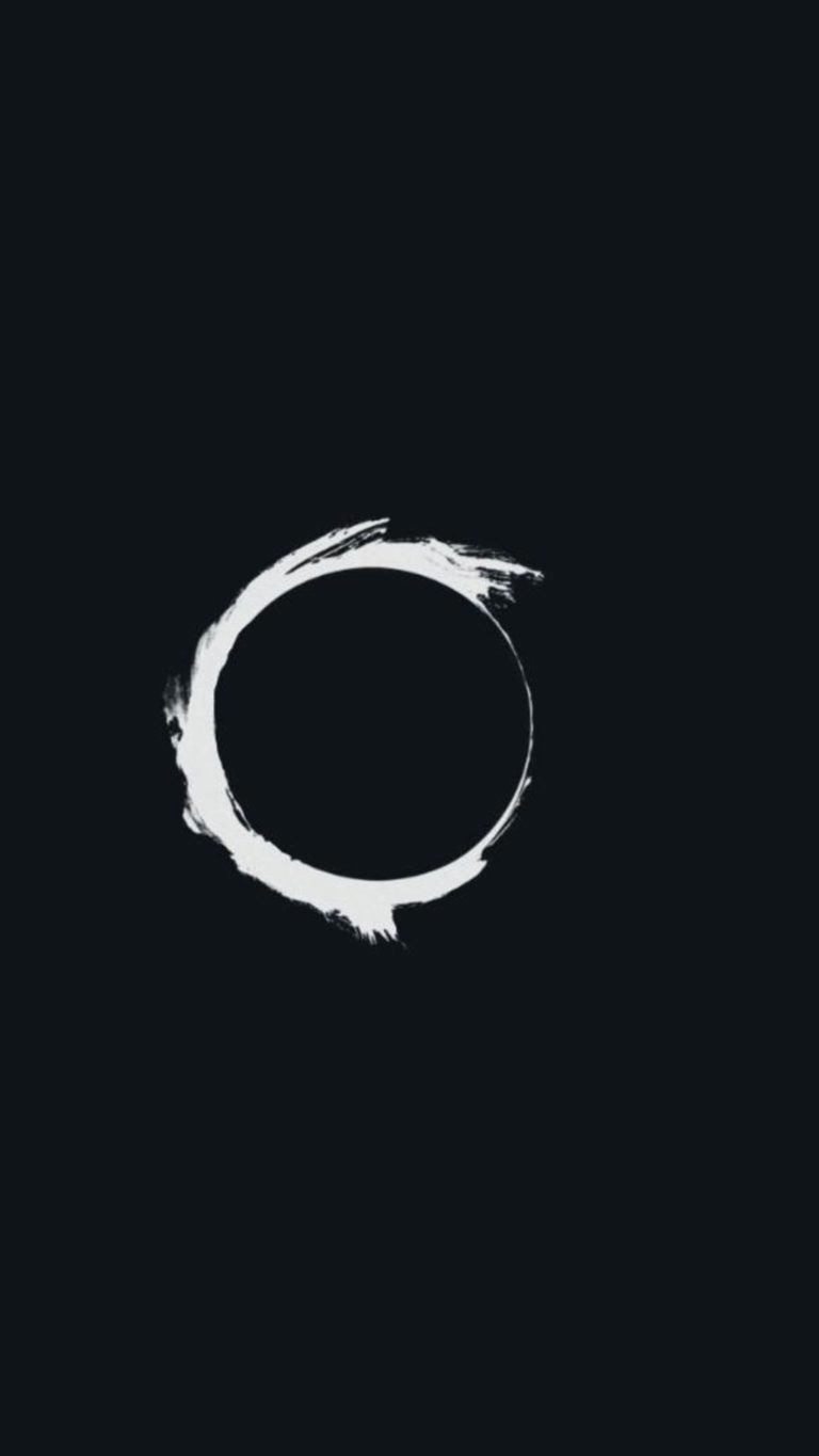 Eclipse Minimalism Pic Wallpaper 1080x1920 768x1365