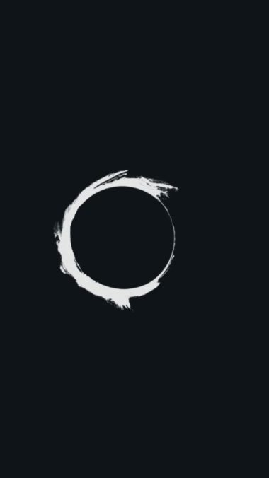 Eclipse Minimalism Pic Wallpaper 2160x3840 380x676