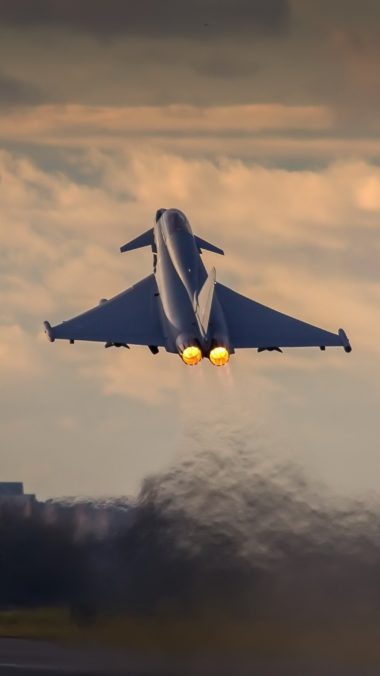 Eurofighter Typhoon Hd 8r Wallpaper 2160x3840 380x676