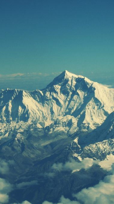 Everest Mountain Sky Tops 380x676