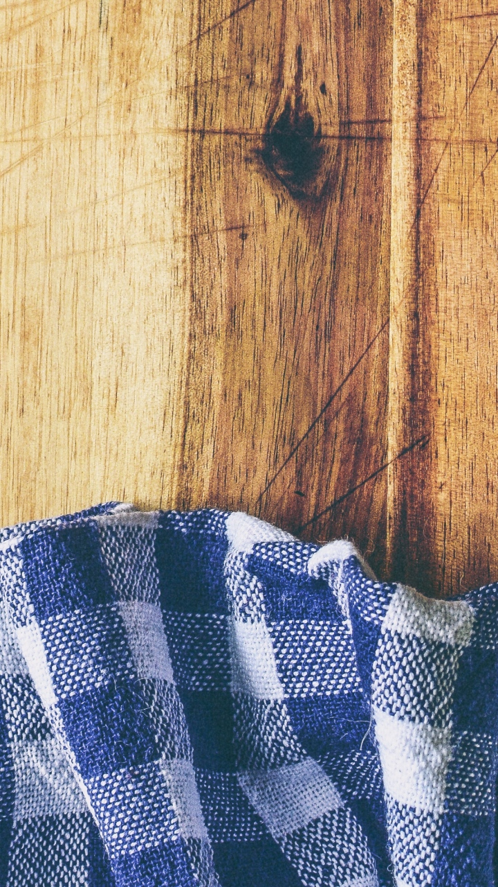 Fabric Steel Surface Wooden Wallpaper 720x1280