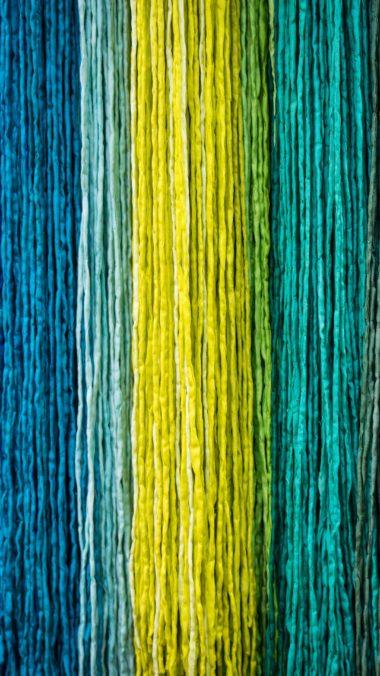 Fabric Texture Multicolored Wallpaper 2160x3840 380x676