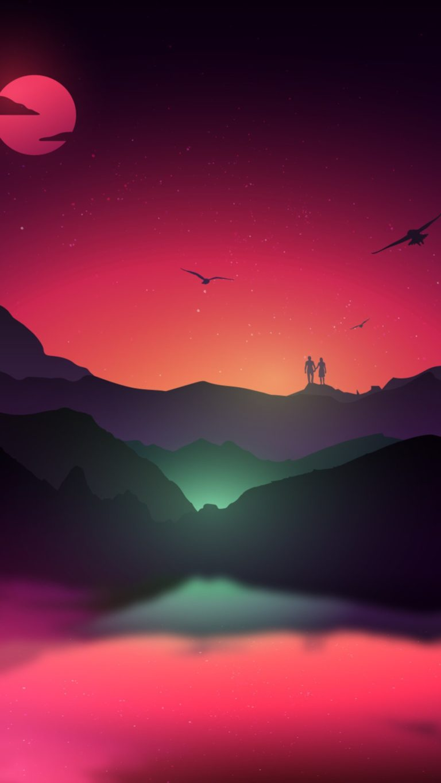 Fantasy Landscape Dk Wallpaper 1080x1920 768x1365