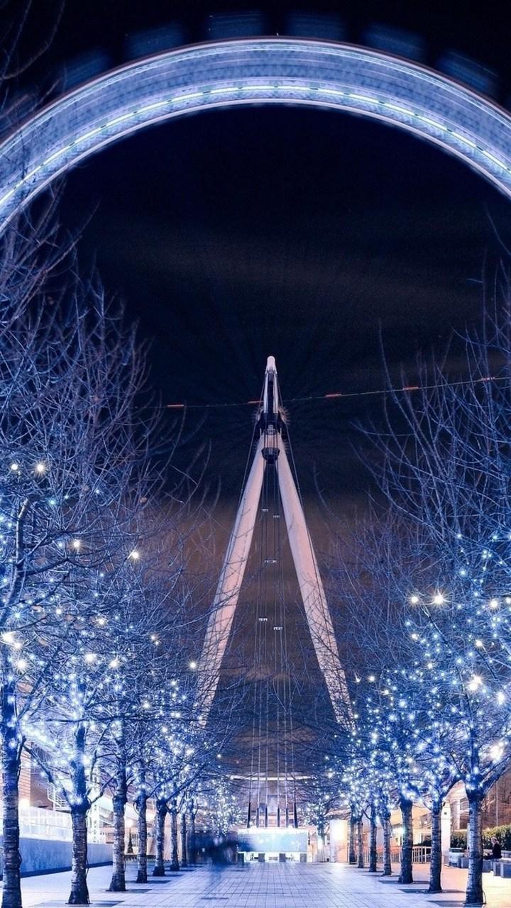 Ferris Wheel London Wallpaper 720x1280