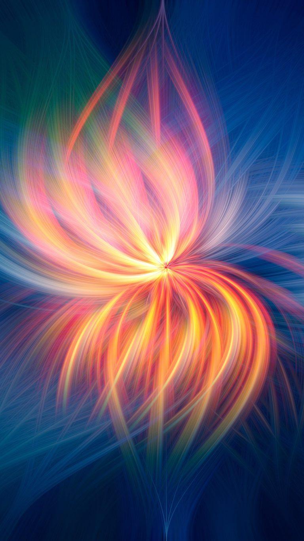 Fireflower Abstract L7 Wallpaper 1080x1920 768x1365