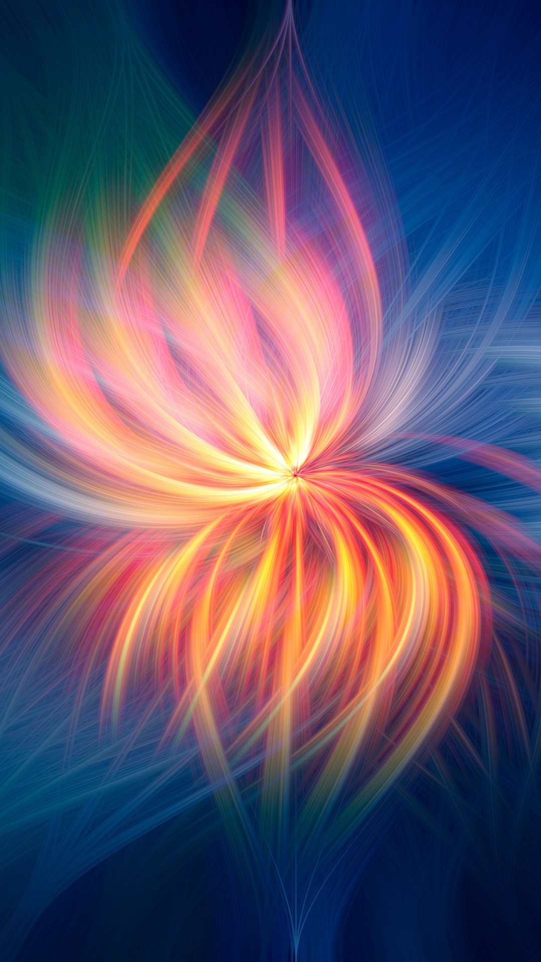 Fireflower Abstract L7 Wallpaper