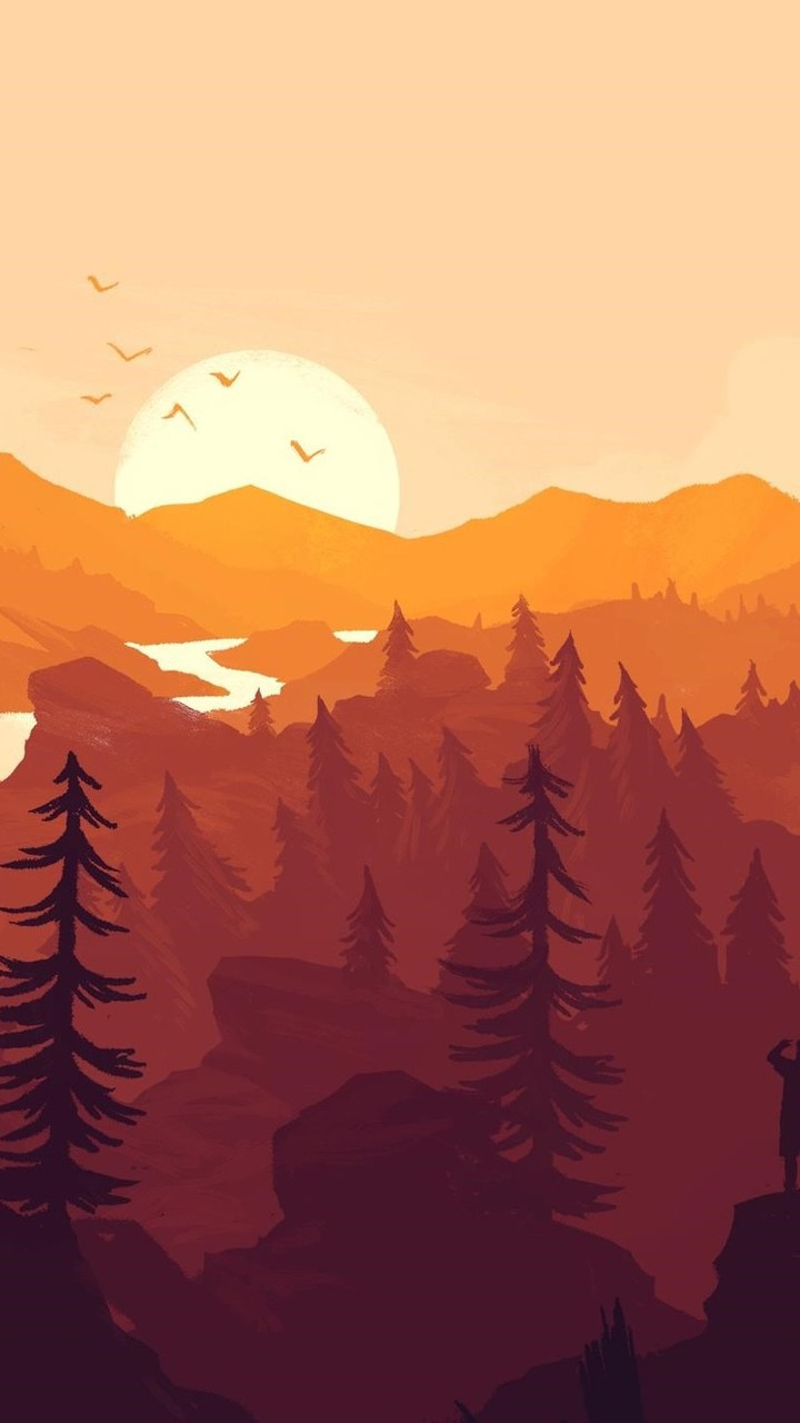 Firewatch Game Wallpaper 720x1280